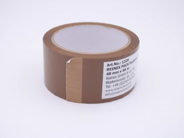 REINEX PACK Packband PP braun 48 mm x 66 m