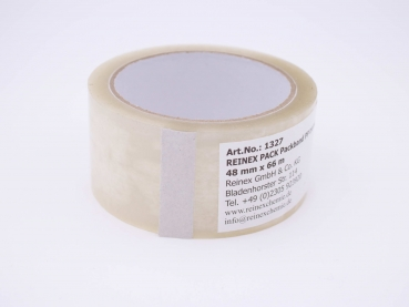 REINEX PACK Packband PP transparent 48 mm x 66 m